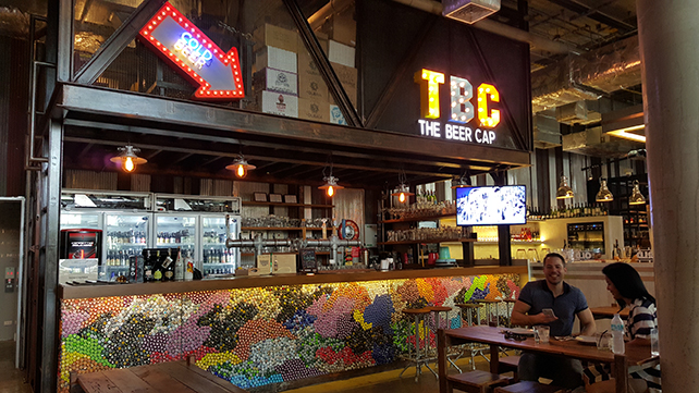 Thailand Craft Beer Bar TBC in Thonglor that serves imported craft beer