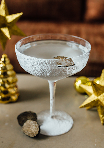 Coppersmith Troika Sky Dining KL Christmas Drink Dirty Frostini