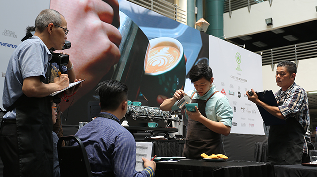 Malaysia Latte Art Competition at Cafe Malaysia 2016