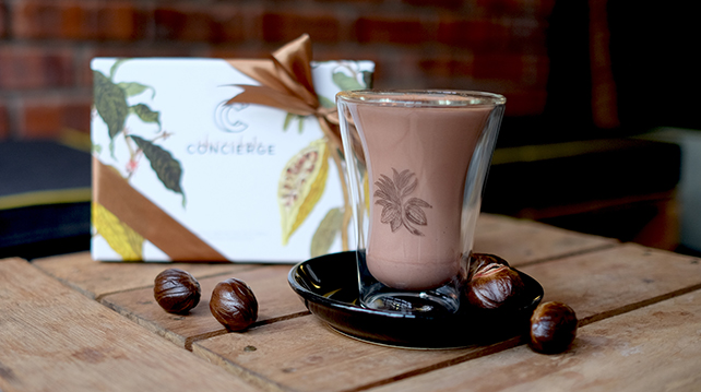 Chocolate Concierge hot chocolate recipe
