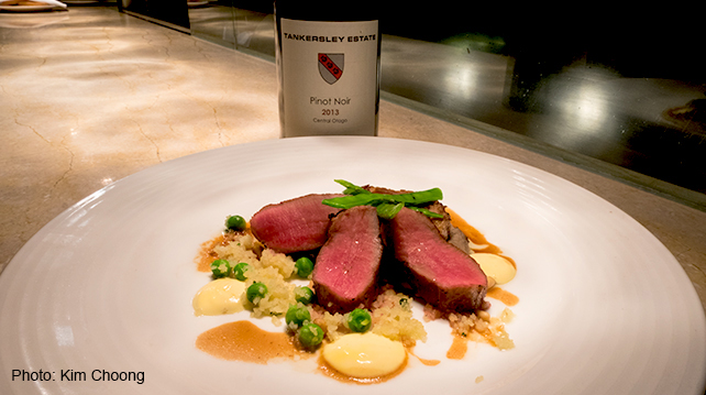 Traders KL Gobo New Zealand Week Dinner Pure South Lamb Loin