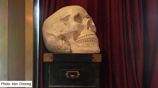 IKKI TREC KL Gentlemen's Bar Skull