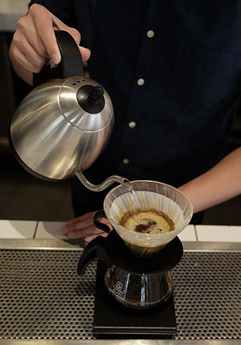 Drip coffee is the best way to taste the beans original flavours