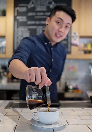Shaun Liew will be representing Malaysia to World Brewers Cup 2017