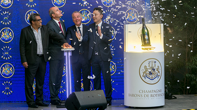 Champagne Baron de Rothschild launched at Maison Francaise Kuala Lumpur