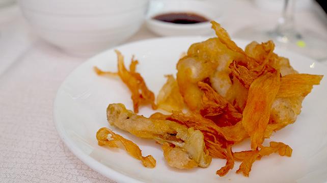 Crispy Ginger Chicken at The Mutiara Palace Restaurant