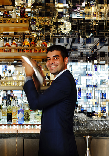 Head Bartender Ashish Sharma