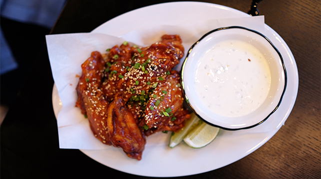 Black Tap Singapore Fried Chicken Wings