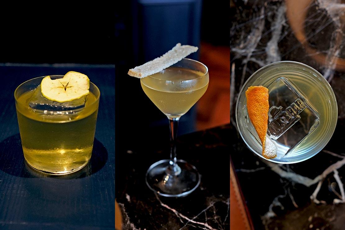 Frank's Bar cocktails