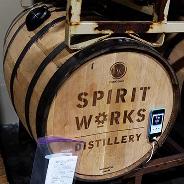 SPirits Work music ageing barrel