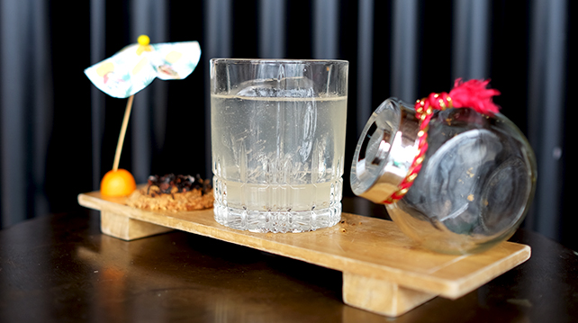 Mr Chew's Fogueira cocktail