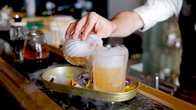 Mr Chew's Celestial 5 cocktail