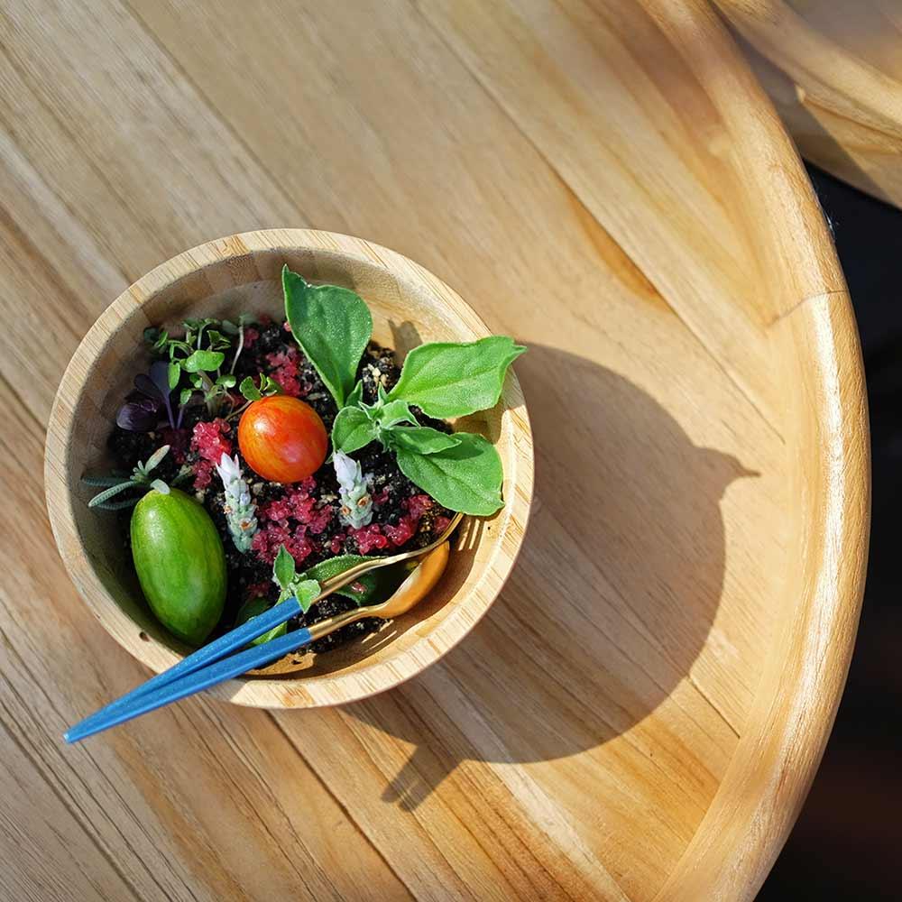 The Curious Gardener Salad