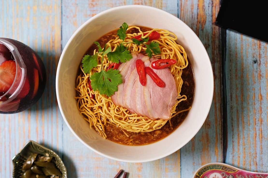 Werner's Deli Crispy Duck Noodles