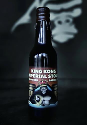King Kong Brewing Soju Imperial Stout