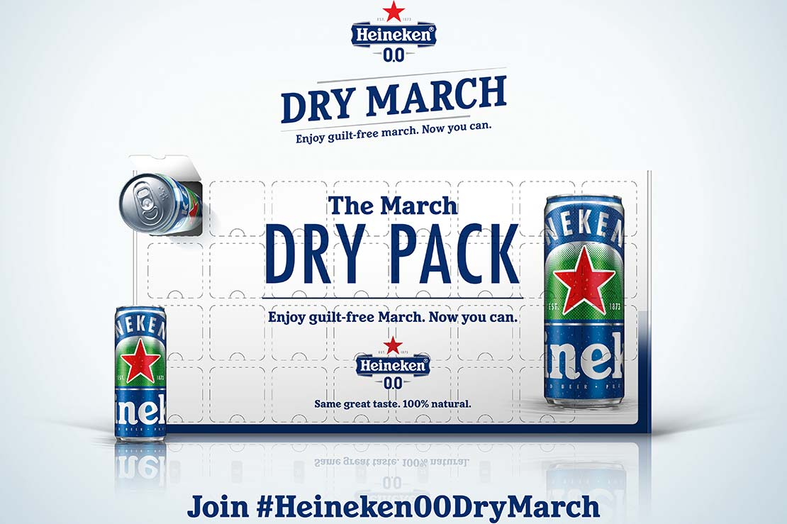 Heineken 0.0 31-Day Dry March Pack