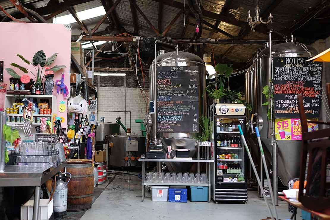 Moon Dog original Frankenstein brewery