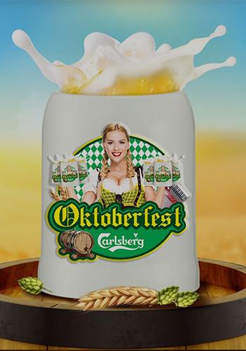 Carlsberg Malaysia Oktoberfest Mug