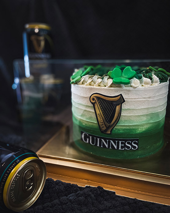 Cake by Cake X St Patrick's Day Guinness