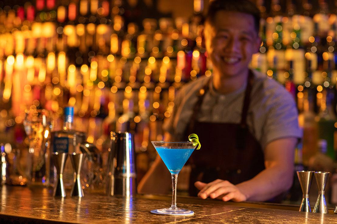 Jiangxiaobai Azure Morning Cocktail