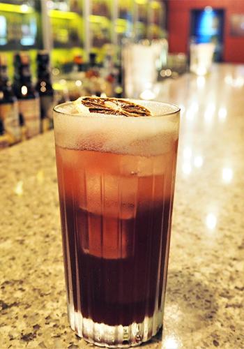 The Rumbar Halloween Cocktail
