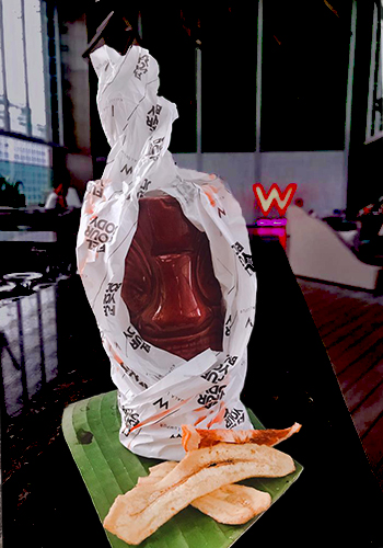 W Hotel KL Pocong Tito's Halloween Cocktail