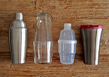Basic shakers for home bar