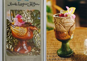 Jungle Bird glassware versions