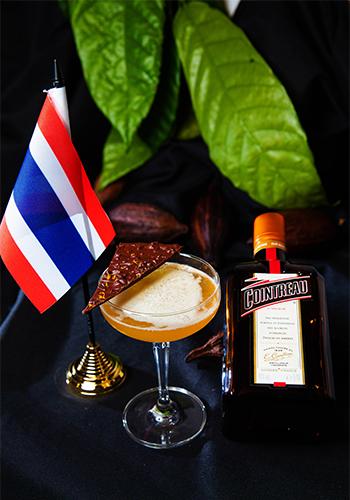 La Maison Cointreau Le Chocolatier Cointreau Challenge winning cocktail