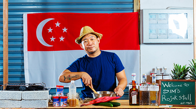 Night Market Challenge winner Sim Sze Wei Singapore