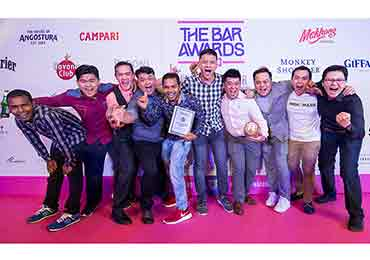 Best Bar of the Year 2018 Penang Mish Mash Penang