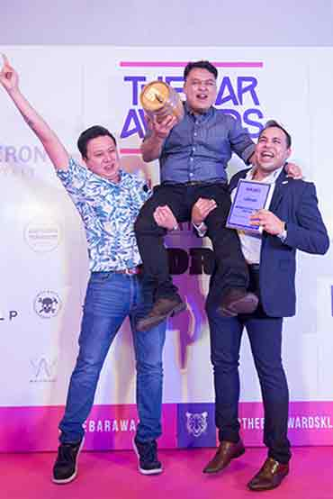 Bartender of the Year 2018 Penang Spencer Ezra