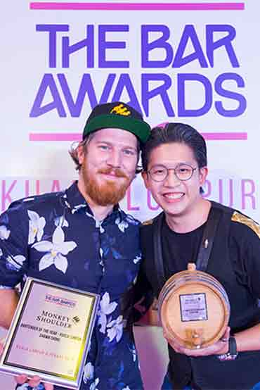 Bartender of the Year 2018 KL Shawn Chong