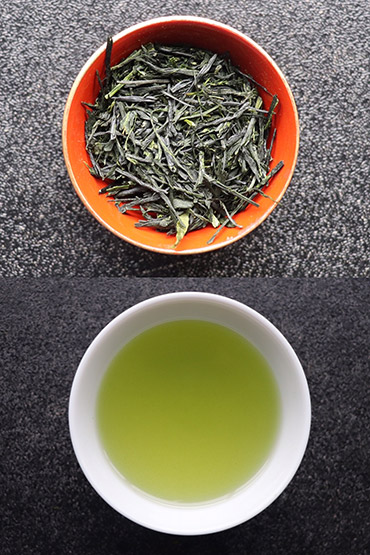 Japanese premium green tea