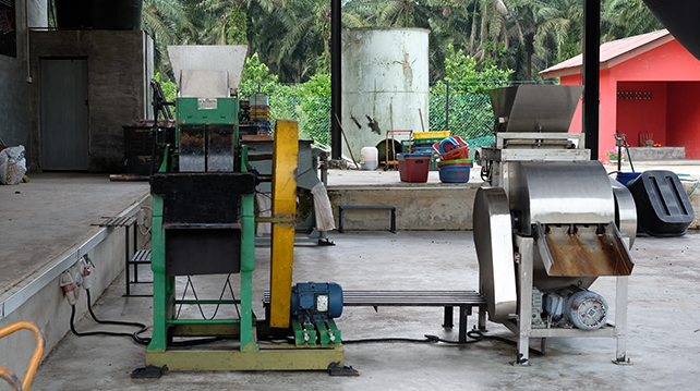 Some machines were previously used for Arabica beans need to be modified for Liberica beans