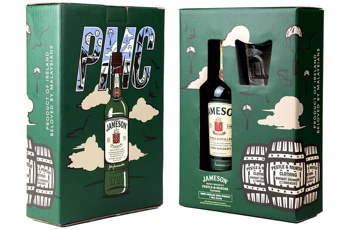 Jameson x Pestle & Mortar Gift Pack