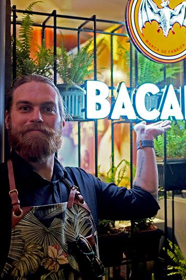 Bacardi Trade Ambassador Jonas Ax