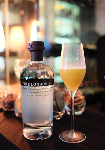 London No. 1 Gin cocktail Hedonism