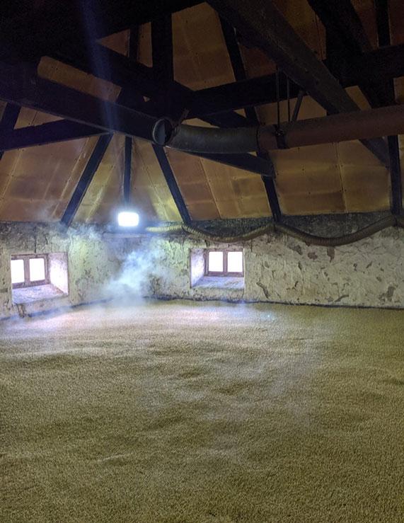 The Balvenie malting floor