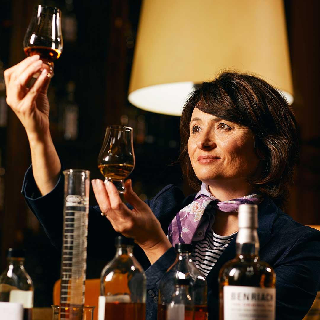 Dr Rachel Barrie, Master Blender of Benriach