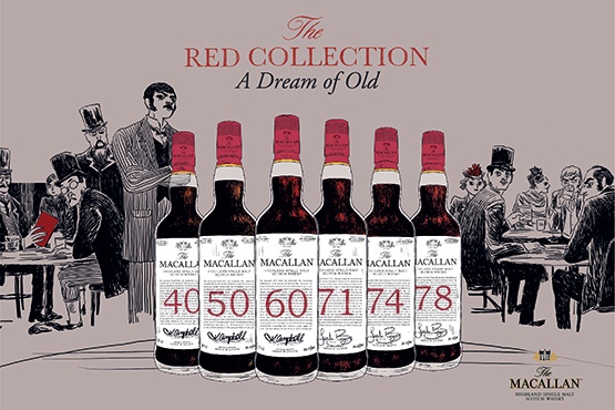 The Macallan Red Collection in the M Room