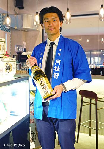 Sake Sommelier Sebastian Chen