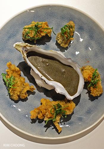 Deep fried Fine de Claire oysters