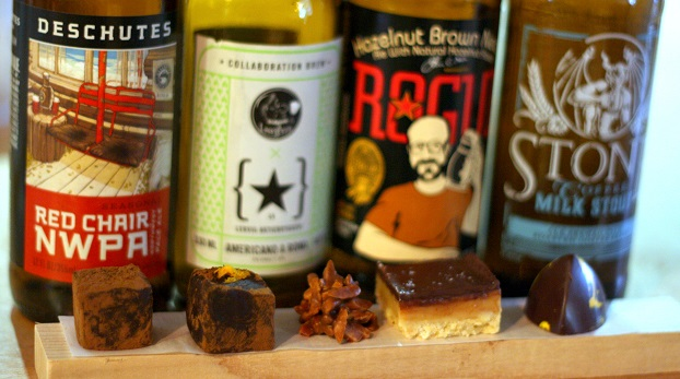 Beer + Chocolate Pairing Experience