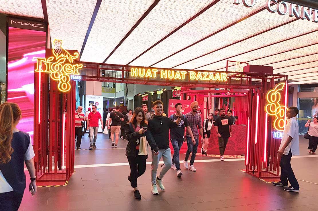 Tiger Huat Huat Bazaar in Pavilion