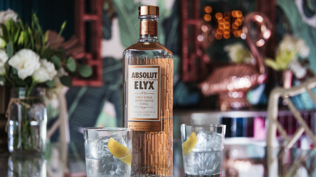 Absolute unveils new Elyx bottle design