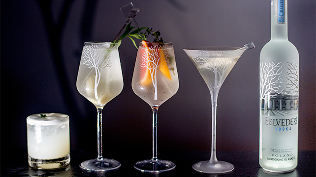 Belvedere Vodka released cocktail collection