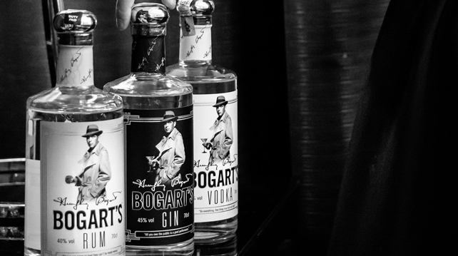 Introducing the Bogart's Collection of spirits