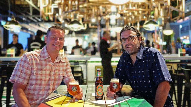 Brooklyn and its partnership with Carlsberg