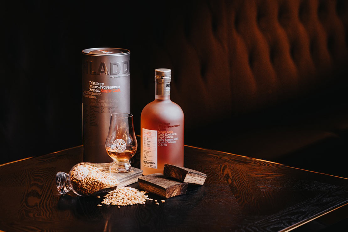 Bruichladdich's single cask whisky available in South East Asia for the first time